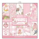 Stamperia - Double-Sided 12 x 12 Inch Paper Pack - Baby Girl